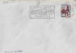 17 - CHARENTE MARITIME - ST JEAN D'ANGELY - SECAP - 1963 - - Mechanical Postmarks (Other)