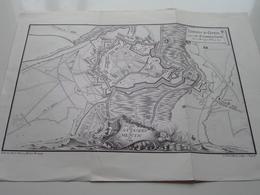 Histoire De MENIN - Plan Des Attaques De Menin En 1744 ( Voir / Zie Photo ) A. REMBRY-BARTH ! - Europe