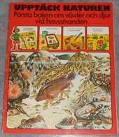 Upptäck Naturen - Första Boken Om Växter Och Djur Vid Havsstranden; Från 70-talet - Books, Magazines, Comics