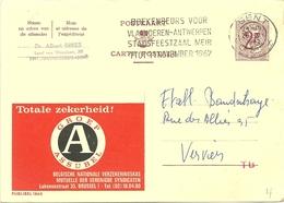 Entier Postal : Groep Assubel - Stamped Stationery