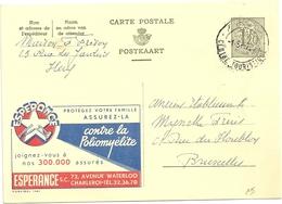 Entier Postal : Espérance, Assurances - Publibels
