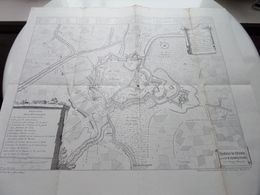 Histoire De MENIN - Explication De L'Attaques / Plan De La Ville De Menin ( Voir / Zie Photo ) A. REMBRY-BARTH ! - Europa