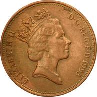 Monnaie, Grande-Bretagne, Elizabeth II, 2 Pence, 1993, TB+, Copper Plated Steel - 1971-… : Monnaies Décimales