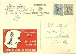 Entier Postal : Algemene Spaar - Entiers Postaux