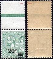 Monaco N°   51 ** Prince Albert Premier - Le 20 C Sur 15 Vert (Hdf) - Monaco