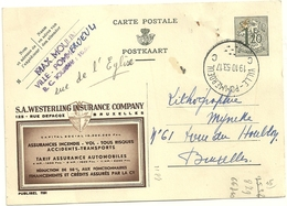 Entier Postal : Westerling Insurance Company - Stamped Stationery