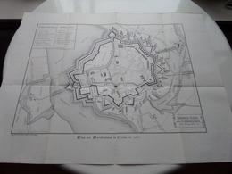 Histoire De MENIN - Bâtiments MILITAIRES & CIVILS / FORTIFICATIONS En 1852 ( Voir / Zie Photo ) A. REMBRY-BARTH ! - Europe