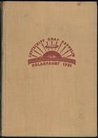 """POLARFAHRT 1931, """"Die Arktisfahrt Des Graf Zeppelin"""", Von Dr. L. Kohl Larsen, Passagier Auf Der Fahrt, Union Verlags-Ges - Zeppeline"""