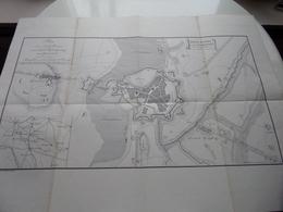 Histoire De MENIN - Plan Der STADT MENIN Und Ihrer BEFESTIGUNG Im April 1794 ( Voir / Zie Photo ) A. REMBRY-BARTH ! - Europe