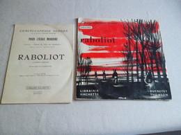 VINYLE 33 T L'ENCYCLOPÉDIE SONORE  RABOLIOT - Vinyl Records