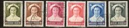 Belgie Belgique 1953 OBCn° 912-17 (°) Used Cote 32 Euro Croix Rouge Rode Kruis - Belgique