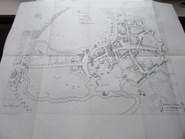 Histoire De MENIN - Plan-vue De MENIN, D'après La FLANDRIA Illistrata.... ( Voir / Zie Photo ) A. REMBRY-BARTH ! - Europe