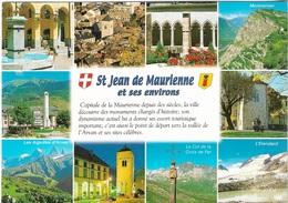73 - St Jean De Maurienne - 1 Timbre Philatélique Au Verso, Voir Scan - Cpm - écrite - - Saint Jean De Maurienne