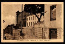 HETTANGE GRANDE - L'Eglise Et L'Ecole Des Filles - France