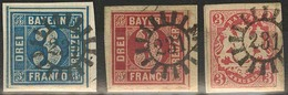 Briefstück 231 - NEUMARKT / KADOLZBURG, Klar Auf Drei Prachtbriefstücken - Bayern