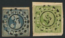Gestempelt Briefstück 57 - BREITENGÜSSBACH, Je Herrlich Zentrisch Klar Auf Schmal- Bis Breitrandiger 3 Kr (kl. Verschlos - Bayern