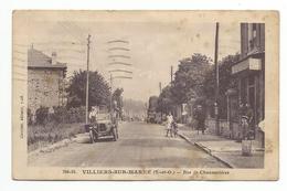 CPA 94 VILLIERS SUR MARNE -Rue De Channevieres - Villiers Sur Marne