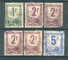 FRANCE ; Petits Colis Postaux ;1944-52 ; Maury N °32-33-34 ; Lot: 05 ; 2° Choix ;oblitéré - Colis Postaux