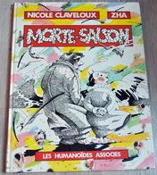 Bande-dessinée Morte Saison De Zha Et Claveloux - Livres, BD, Revues