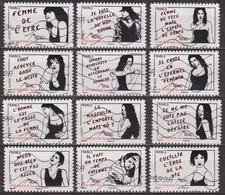 Street Art - FRANCE - Droits De La Femme - Femmes De L'etre - Miss Tic -  2011 - France