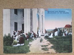 Muslimani Pred Dzaijom . Muselmanner Vor Der Moschee - Bosnie-Herzegovine