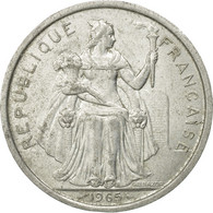 Monnaie, French Polynesia, 5 Francs, 1965, Paris, TB+, Aluminium, KM:4 - French Polynesia