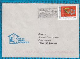 Switserland -  Cover / 2800 Delemont - Entiers Postaux