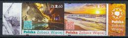 Polen 'Salzbergwerk U. Bernsteinstrand' / Poland 'Salt Mine & Amber Beach' **/MNH 2018 - Holidays & Tourism