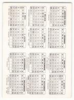 Calendrier 1992 Avec Photo Dédicacée De Mady Lassaux - Calendars