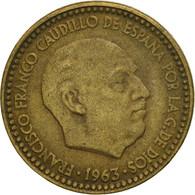 Monnaie, Espagne, Francisco Franco, Caudillo, Peseta, 1963, TB+ - [ 5] 1949-… : Royaume