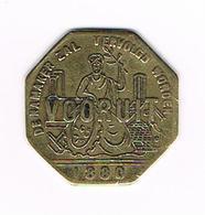 &   BROODKAART  1  VOORUIT 1880 ZONDER . NA WORDEN - Monetary / Of Necessity