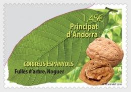 H01 Andorra Spain 2018 Tree Leaves Walnut MNH Postfrisch - Ungebraucht