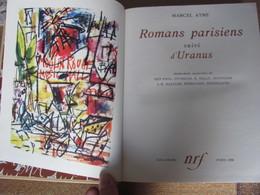 1959 Nrf Marcel Ayme Romans Parisiens Uranus Illustre Aquarelle - Livres, BD, Revues