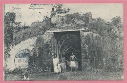 Iles Carolines - Korolinen Inseln - PONAPE - Befestigungswerke - Stempel STRASSBURG Nach BERGHEIM - Micronésie