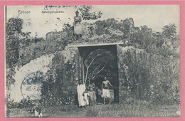 Iles Carolines - Korolinen Inseln - PONAPE - Befestigungswerke - Stempel STRASSBURG Nach BERGHEIM - Micronesia