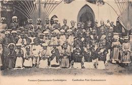 ¤¤  -  CAMBODGE  -  Premier Communiants Cambodgiens   -   ¤¤ - Cambodia