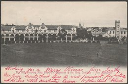 King Edward's Mansions & The Grey Institute, Port Elizabeth, Cape Colony, 1905 - Schaefer Postcard - South Africa