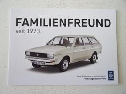Carte Postale Automobile Publicitaire VW Passat 1973 - Turismo
