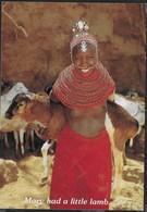 MARY HAD A LITTLE LAMB... - FORMATO GRANDE 17X12 - VIAGGIATA 1992 - Kenia