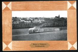 AK/CP Burg Fehmarn Eisenbahn  Inselbahn    Ungel./uncirc.  Ca 1910   Erhaltung/Cond. 2-    Nr. 00514 - Fehmarn