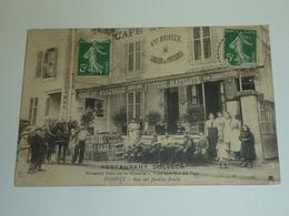 POMPEY, RUE DES JARDINS FLEURIS - RESTAURANT DOLVECK Poissons Frais De La Moselle, Vins... - 54 MEURTHE ET MOSELLE (AC) - France