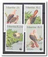 Mauritius 1985, Postfris MNH, Birds, Wwf - Mauritius (1968-...)