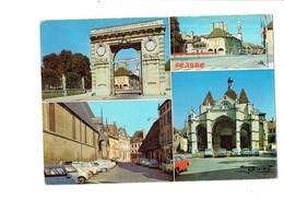 Cpm - 21 - BEAUNE - Multivues - Capitale Du Vin - Photo R. Moisy N°2 -  Voitures - Beaune