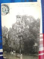 Très Belle Cartes Postales Avec Timbre Paris Buttes-Chaum. Cartoline Francesi Inizi Del Novecento Parigi Con Francobollo - Parken, Tuinen