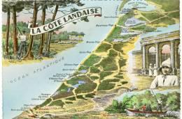 CPM Côte Landaise - France