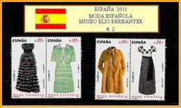 ESPAÑA  2011 - MODA ESPAÑOLA - MUSEO ELIO BERHANYER - 1931-Hoy: 2ª República - ... Juan Carlos I