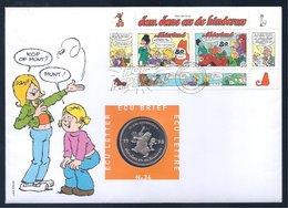 Nederland 1998 Lettre ECU Brief 24 Jan, Jans En De Kinderen (Jan Kruis) - Pays-Bas