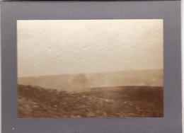 Photo Avril 1915 LES EPARGES (près Fresnes-en-Woèvre) - Sur Le Piton, éclatement D'obus (A198, Ww1, Wk 1) - France