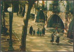 Vista Parcial, Place De Espanya, Banyoles, Catalunya, C.1960s - Alsius Targeta Postal - Spain