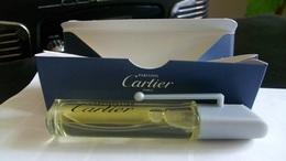 """Miniature De Parfum Cartier   """"  Déclaration   """" Eau De Toilette Vaporisateur Clip Voyage - Miniatures Modernes (à Partir De 1961)"""